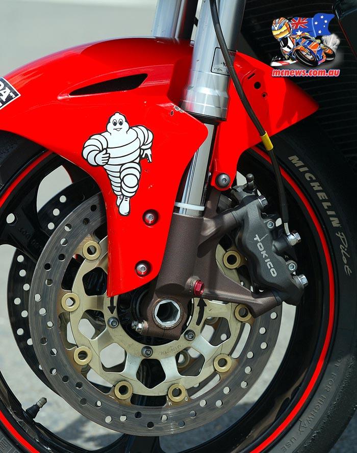 2005 Honda SBK Front Brakes