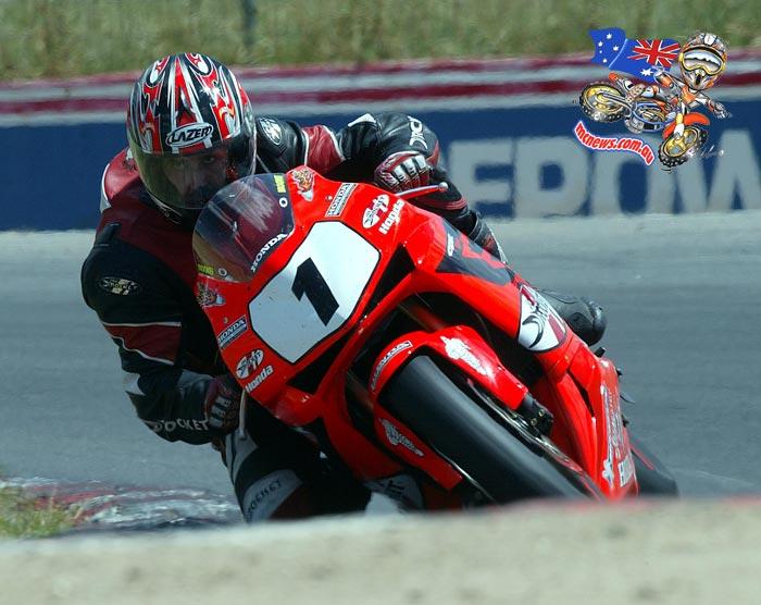 2005 Honda CBR600RR Supersport Racer ridden by Trevor Hedge