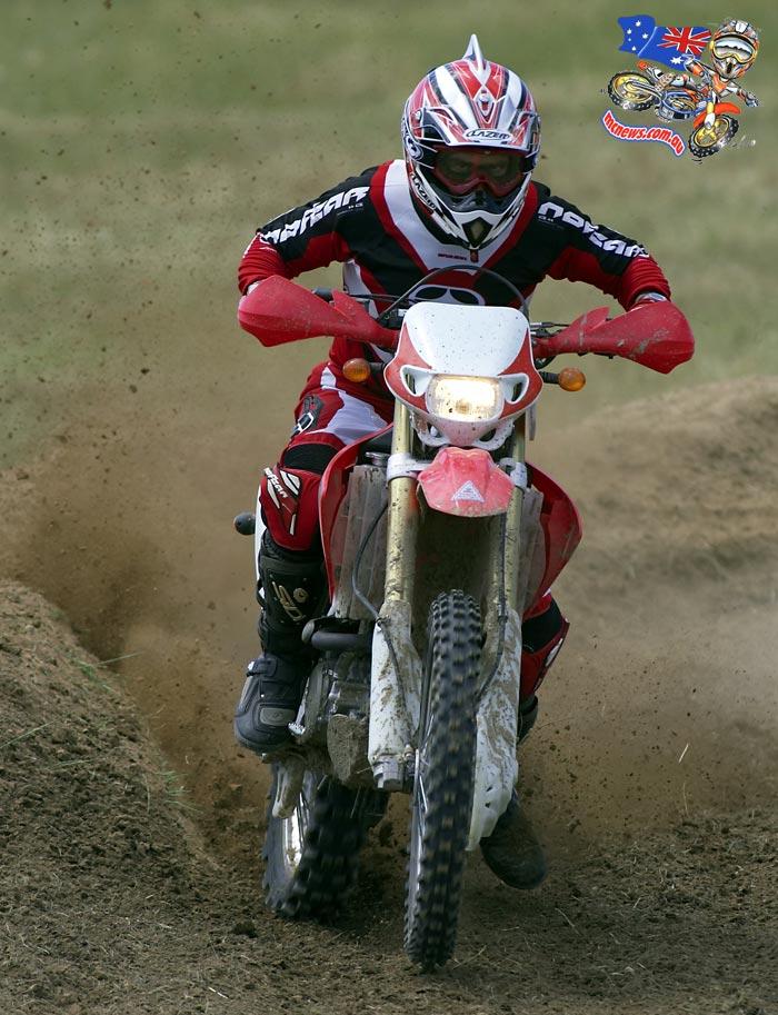 2005 Honda CRF450X ridden by Trevor Hedge