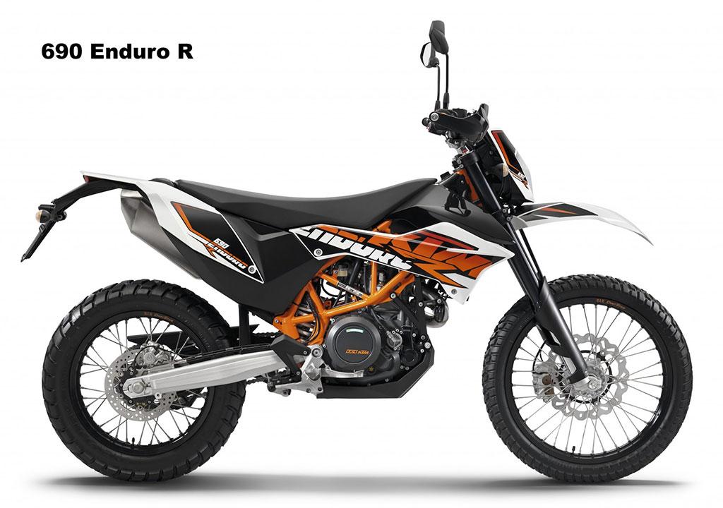 690 Enduro R  - Due: March 14'