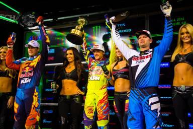 AMA SX 2014 Rnd One 450 podium