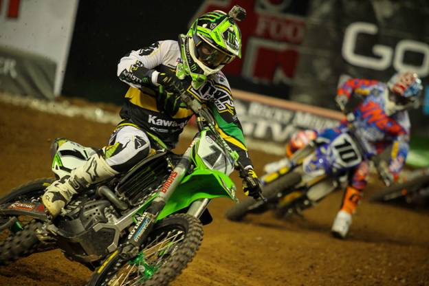 Villopoto earned the first 450Sx Class win of his career at Chase Field Photo Credit: Michael Bartovsky