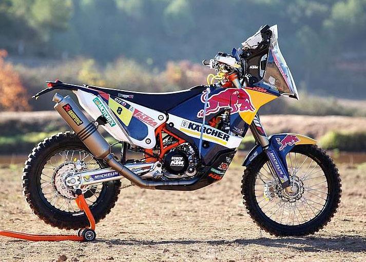 Ktm Goes To The Dakar 2014 With New Ktm 450 Rally Bike