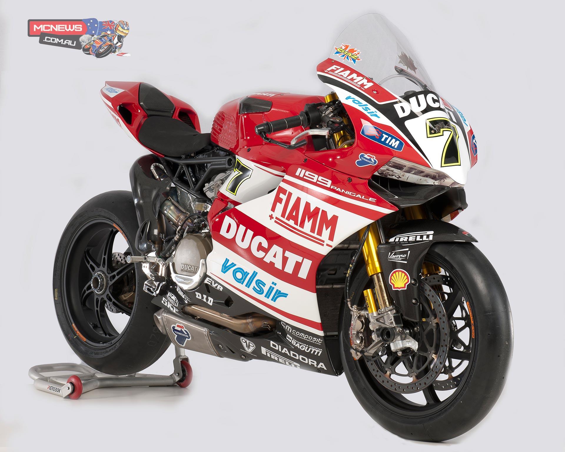 Ducati World Superbike 2014 Team Launch