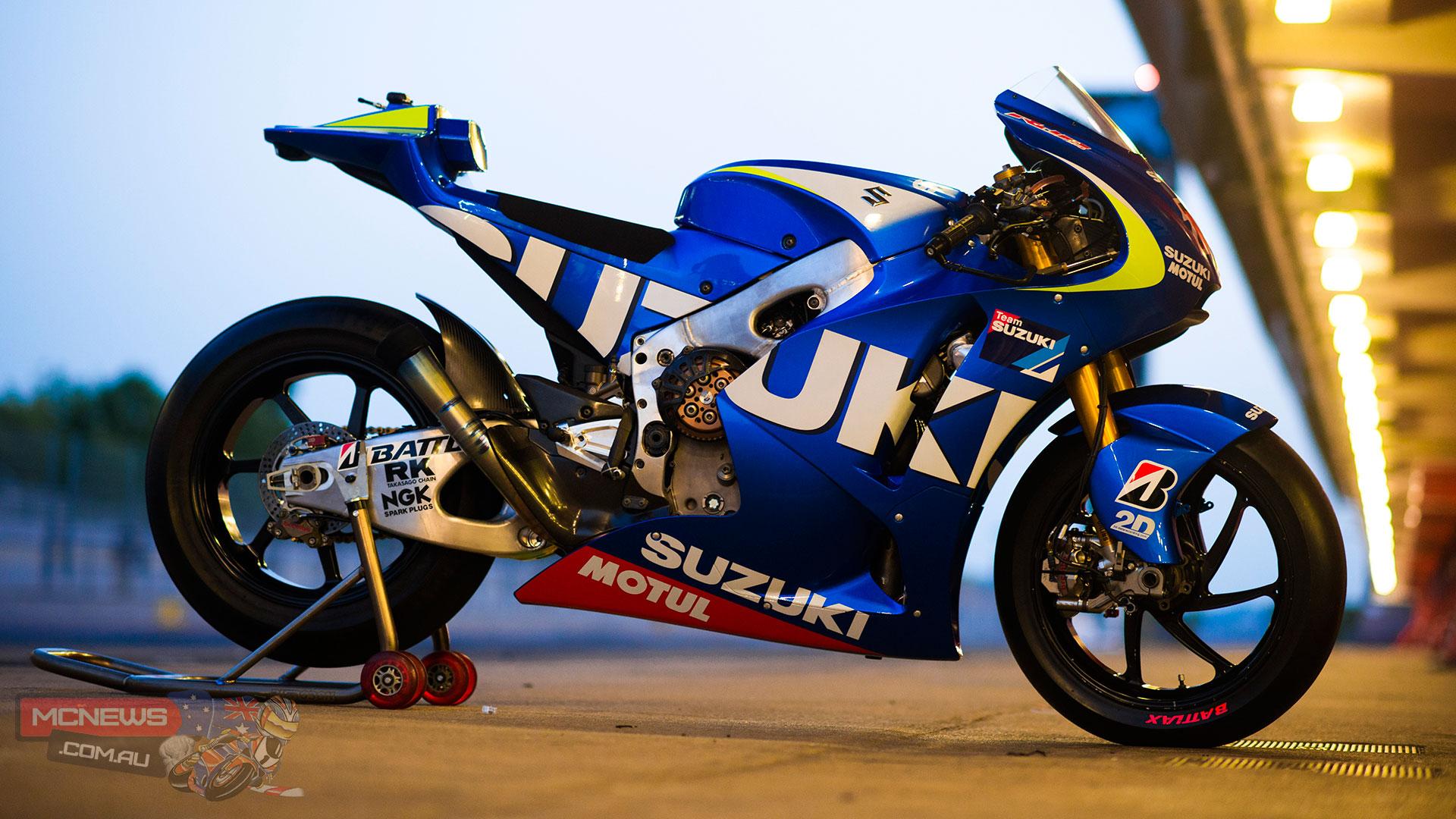 Suzuki MotoGP Test Machine 2013