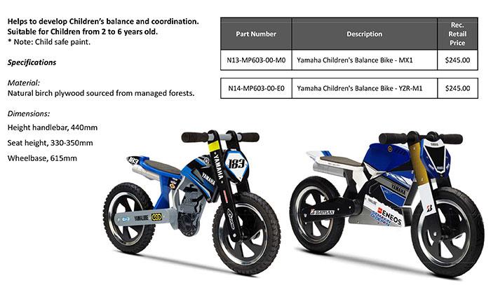 moto yamaha bike. Yamaha Children\u0027s Balance Bikes Moto Bike