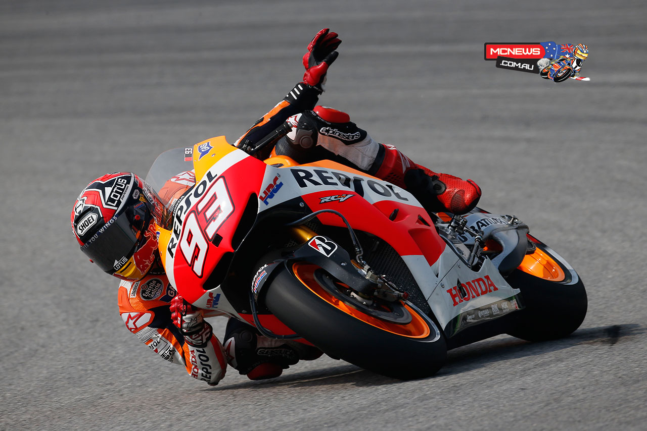 MotoGP Test hits Sepang