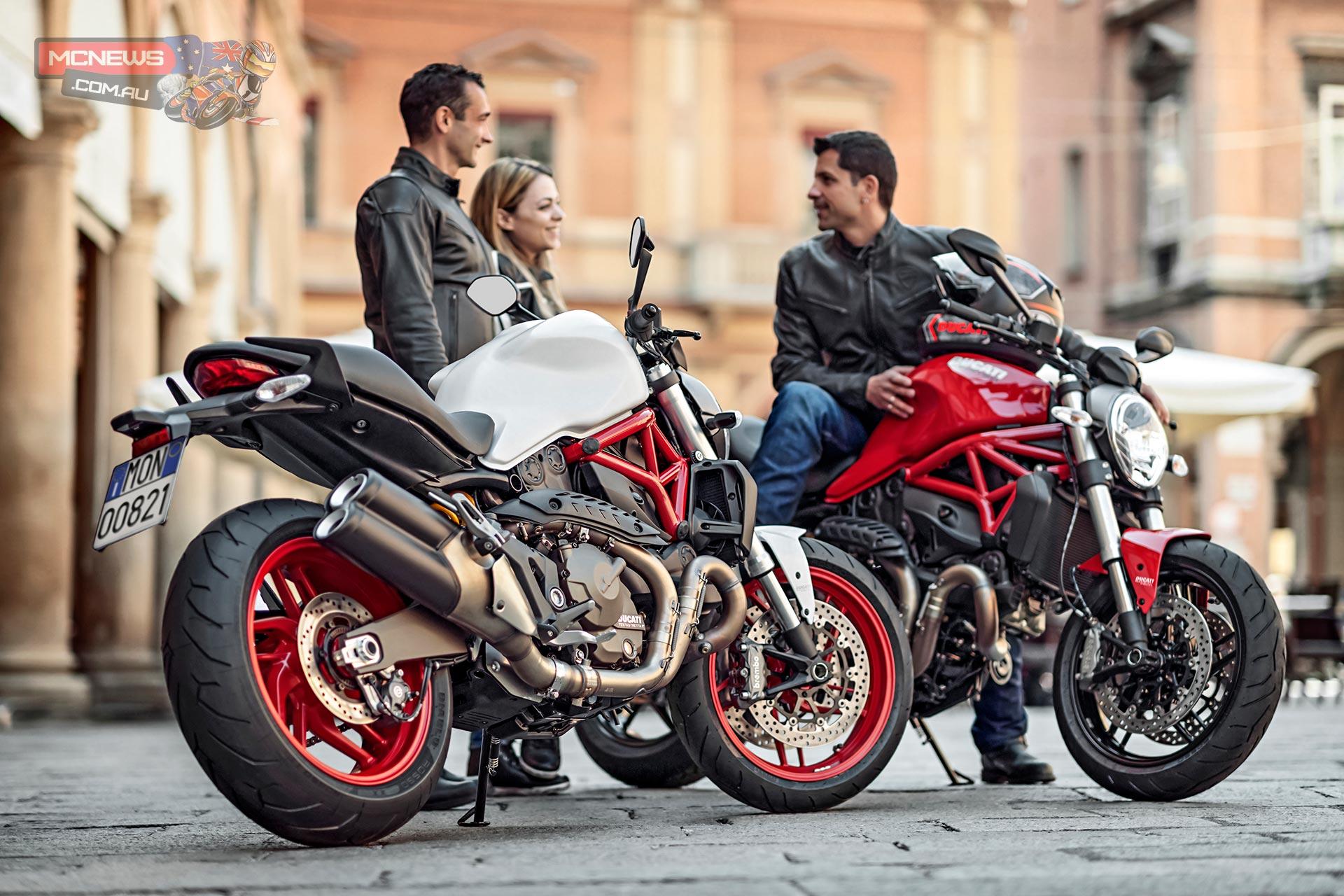 Ducati Monster 821 Price Set