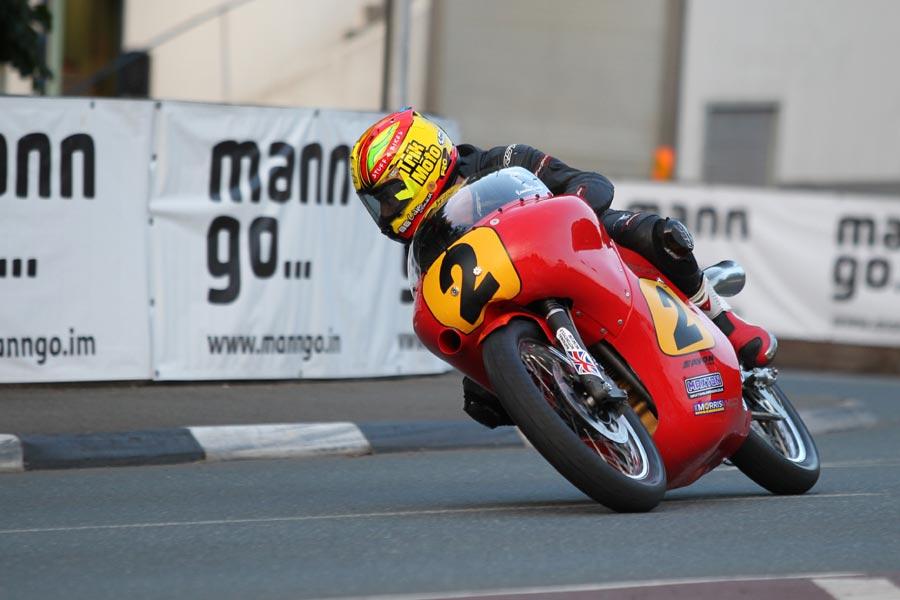 Cameron Donald at the Classic TT
