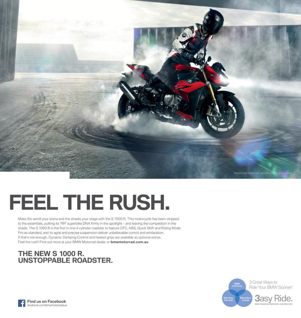 ADVERT BMW S 1000 R