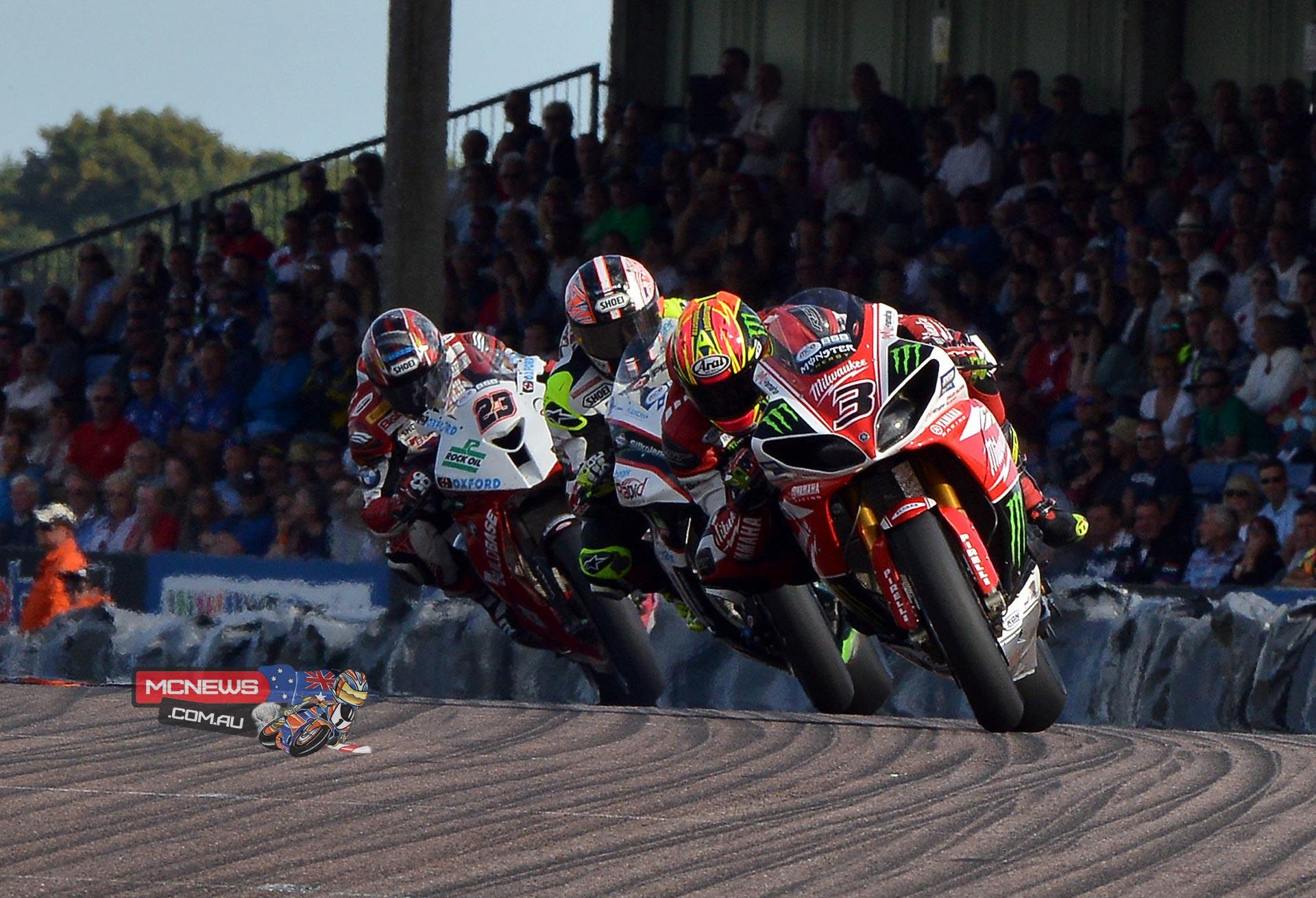 Josh Brookes does British Superbike Double at Thruxton
