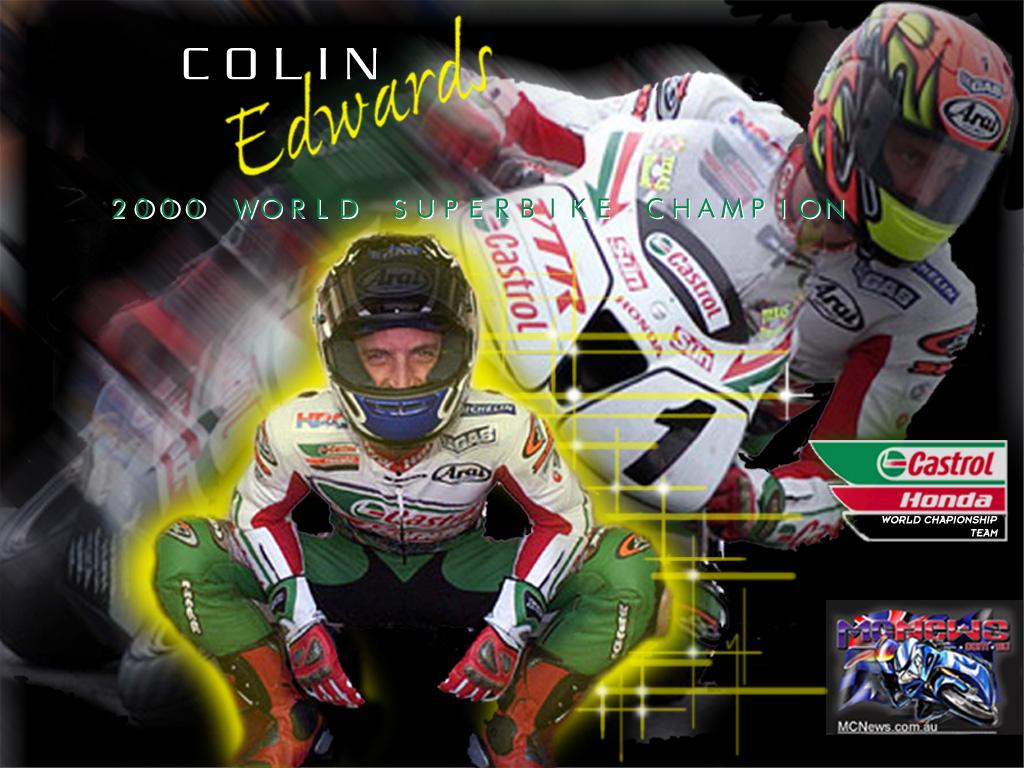 Colin Edwards 2000 World Superbike Champion