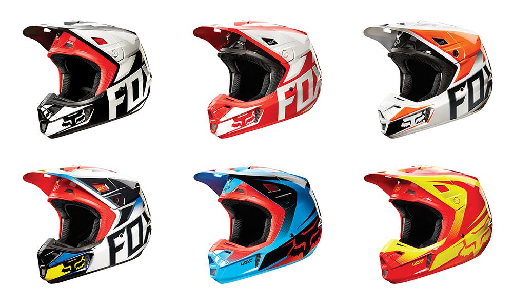Fox 2015 V2 Race Helmet