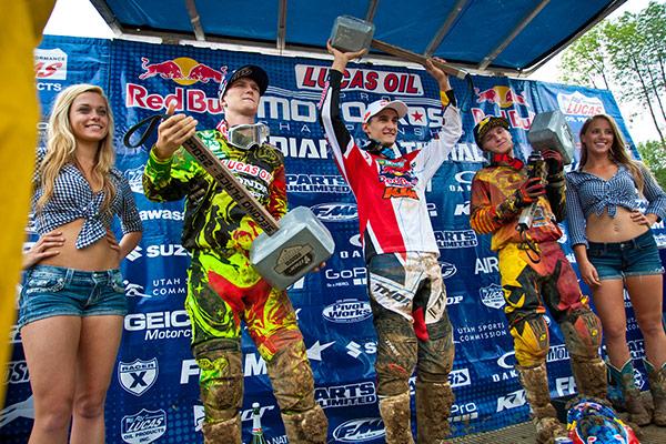 AMA Motocross 2014 Indian 250 Podium