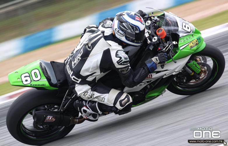 Burke and Li finish Chinese Superbike season on a high