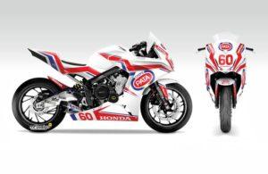 Honda CBR650F Eureopan Junior Cup