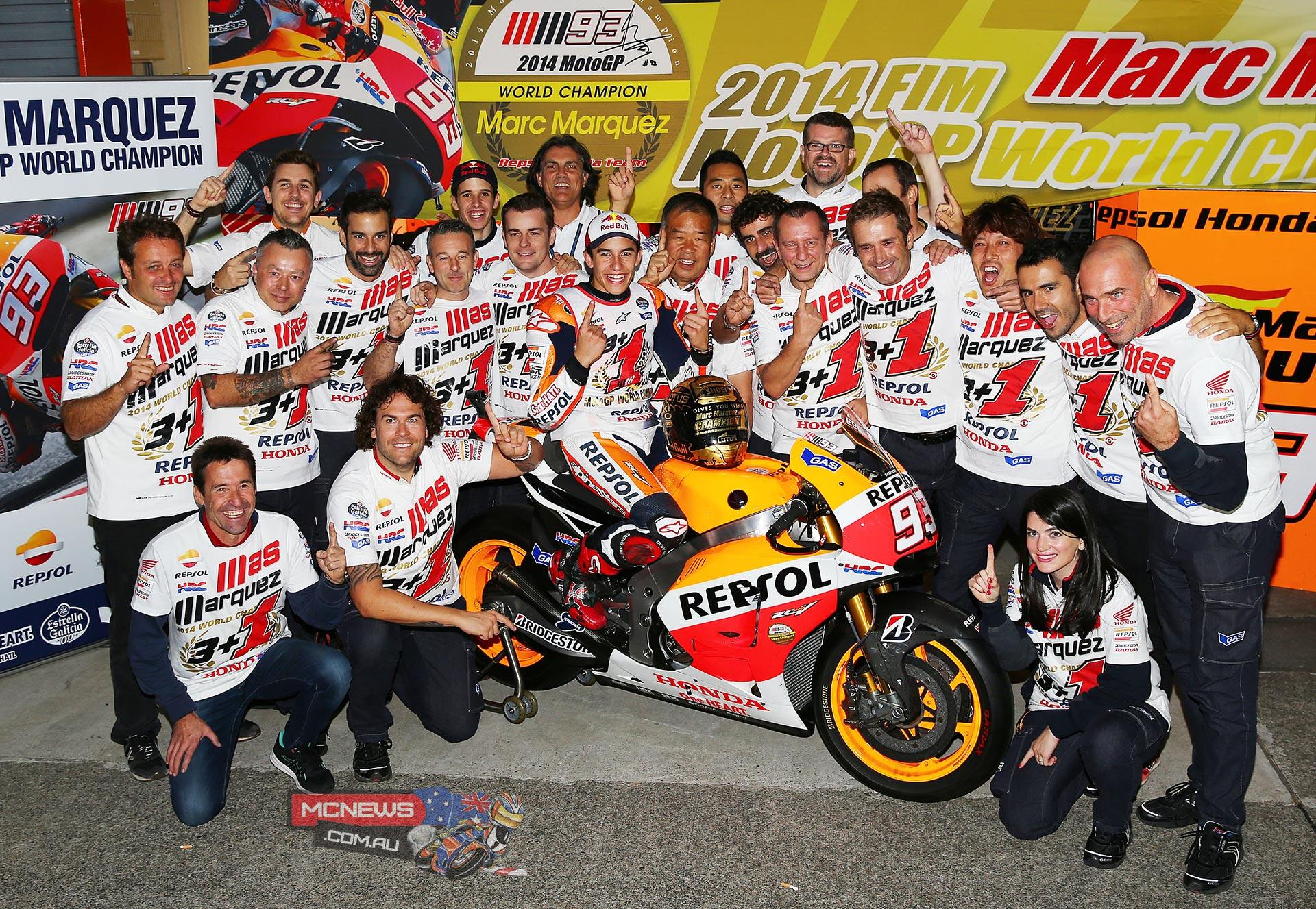 Marc Marquez - 2014 MotoGP Champion   MCNews.com.au
