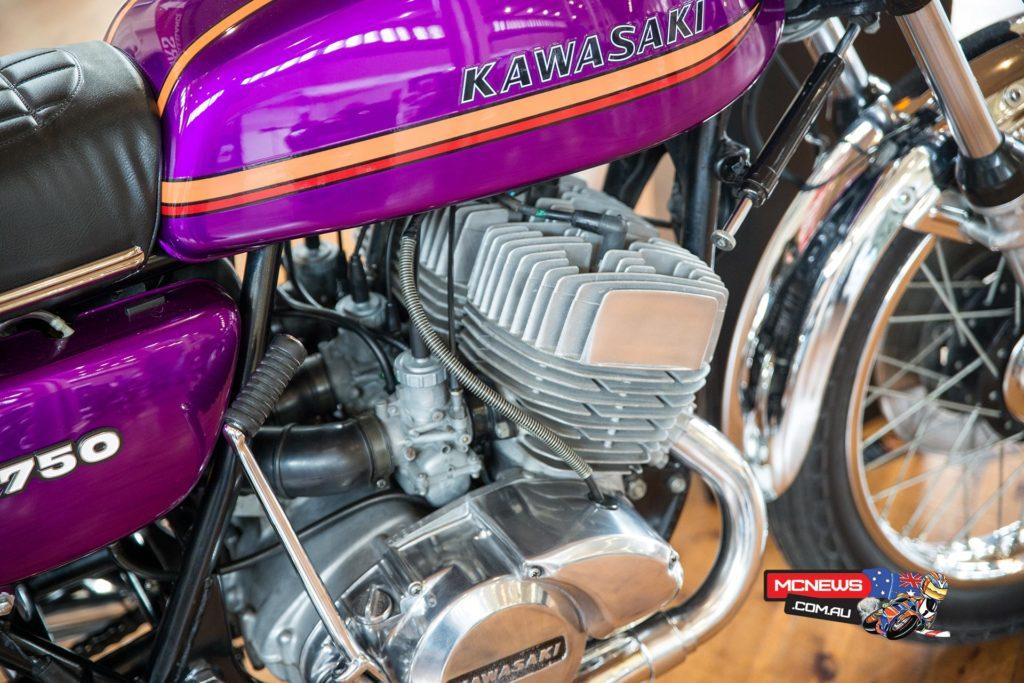 1973 Kawasaki H2 Mach IV