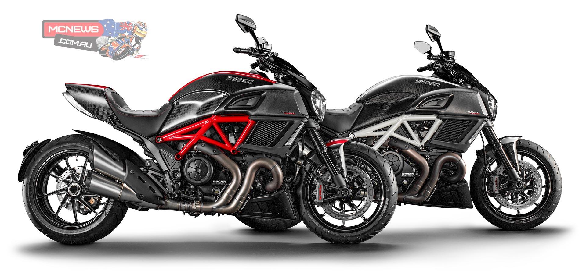Ducati Diavel In Carbon Or Titanium Mcnews Com Au