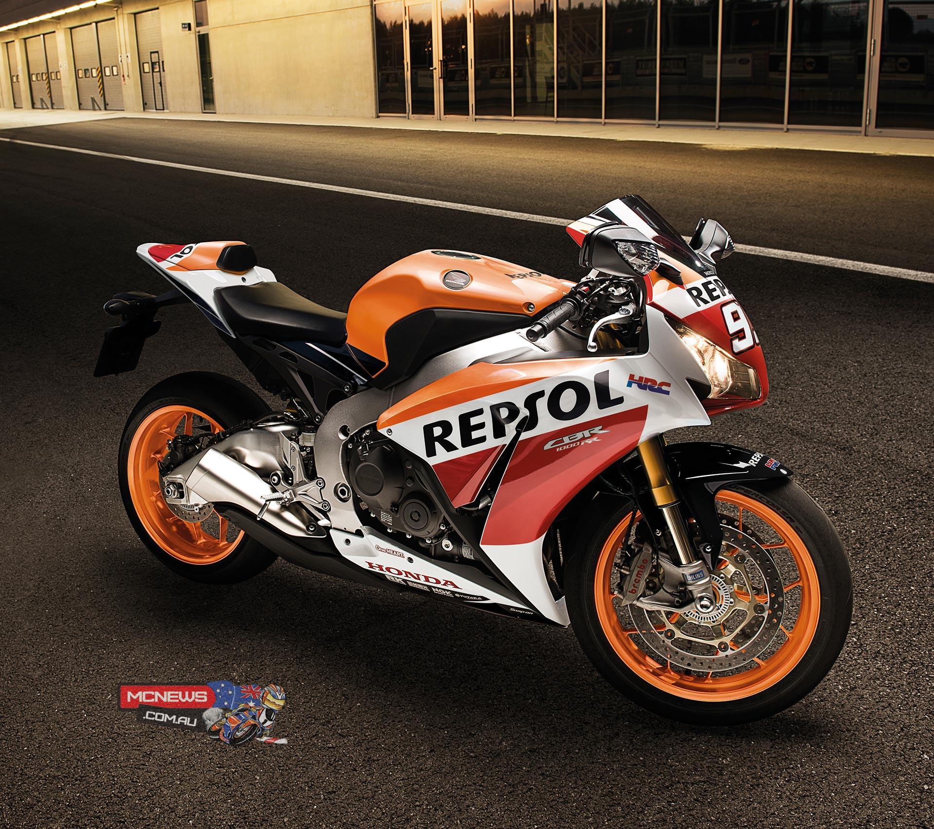 Marc Marquez Repsol Replica 2015 Honda CBR1000RR Fireblade SP