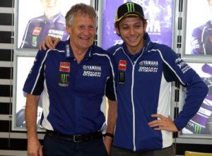 Jeremy Burgess and Valentino Rossi enjoyed a long and fruitful partnership