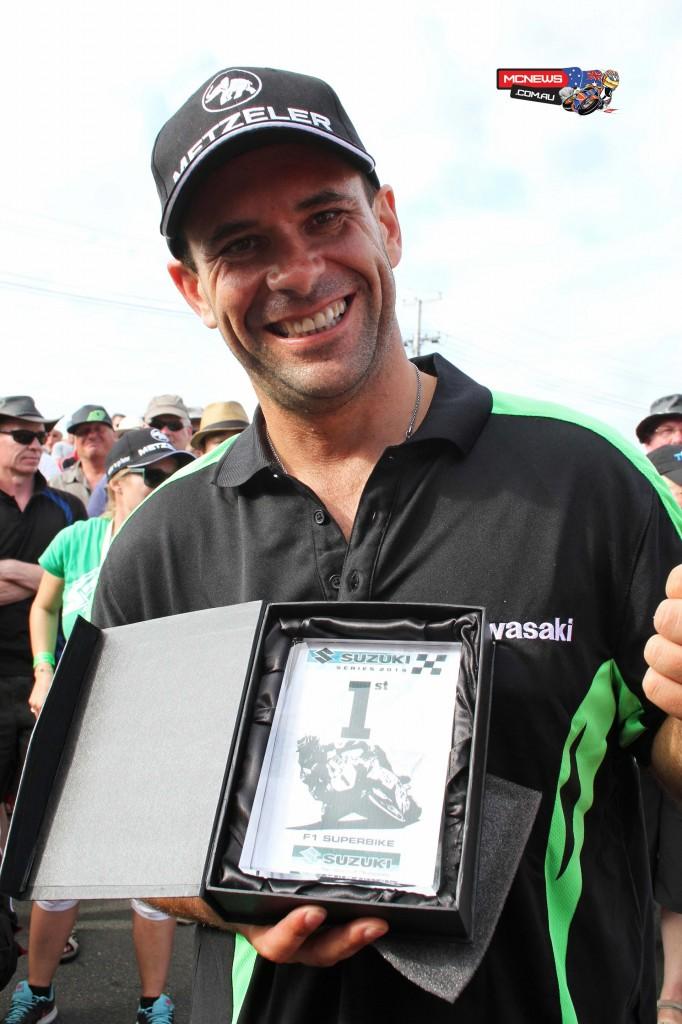Horst Saiger, winner of the 2014 Suzuki Series. Photo by Terry Stevenson