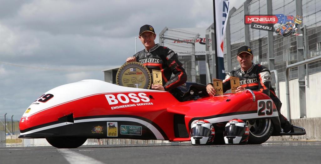 Serial champions Adam Unsworth & Stu Dawe with 4 Suzuki Series titles.