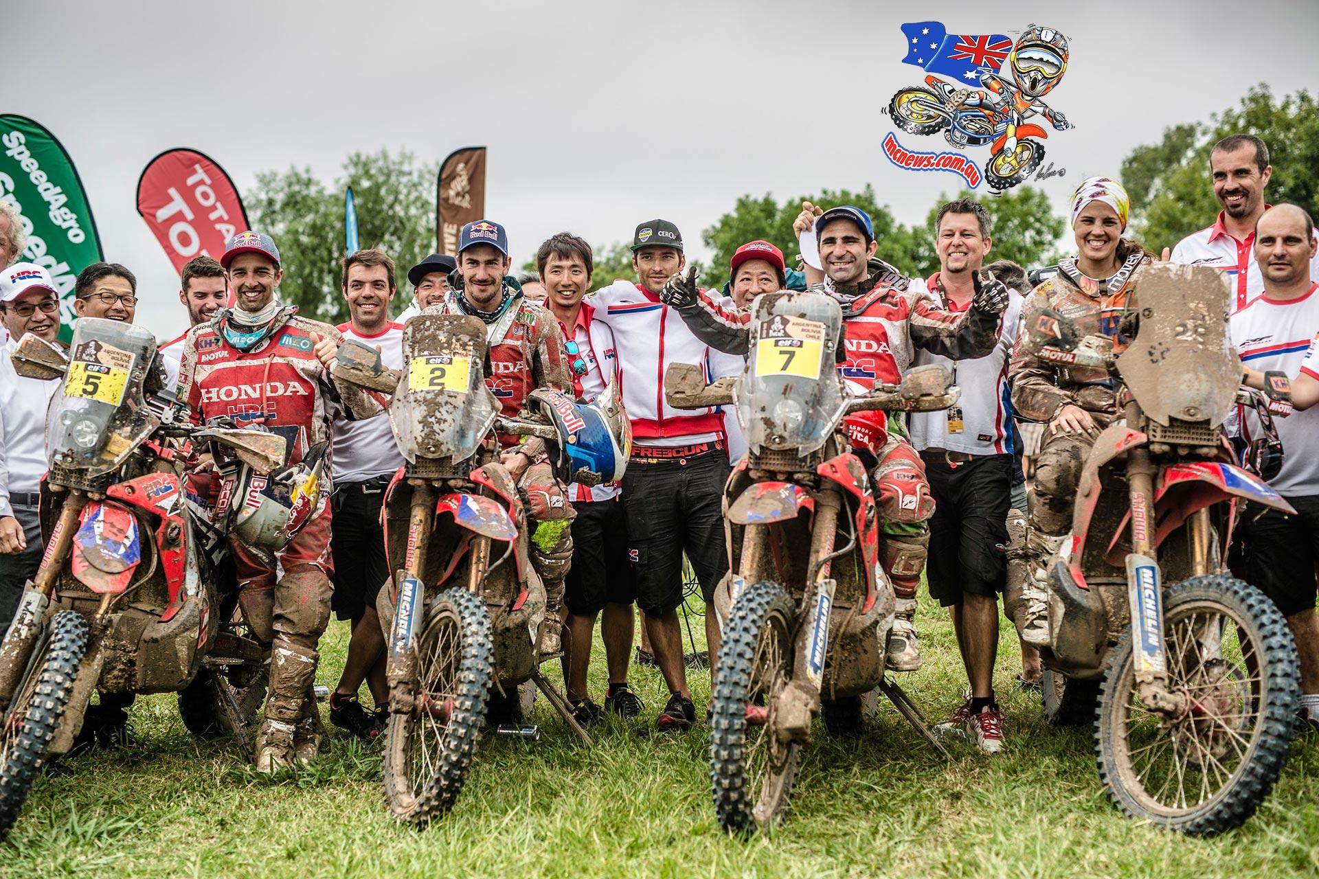 Dakar 2015 Team HRC