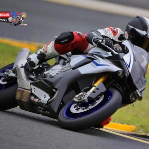 Mark McVeigh on the 2015 Yamaha YZF-R1M at Sydney Motorsports Park