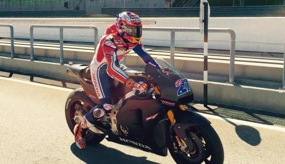 Casey Stoner 2015 MotoGP Test Sepang