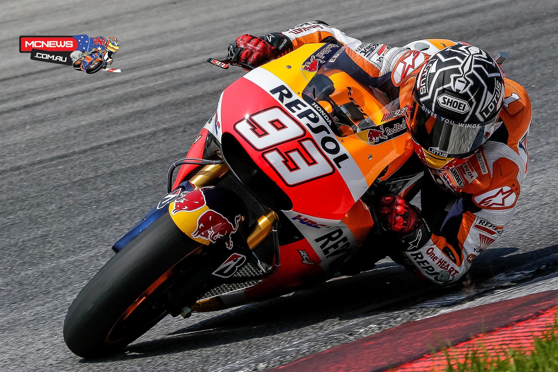 Marquez tops Sepang 2 MotoGP Test | MCNews.com.au