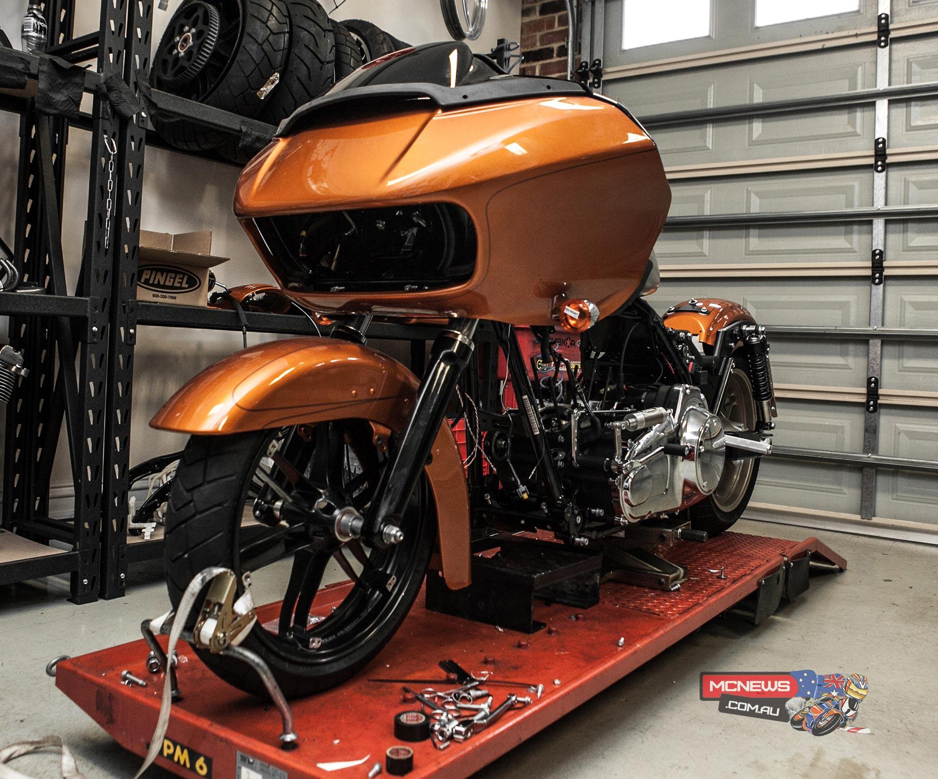 Harley Hitting Lake Gairdner Speed Week Mcnews Com Au