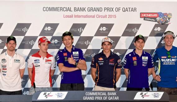 MotoGP 2015 Qatar Press Conference