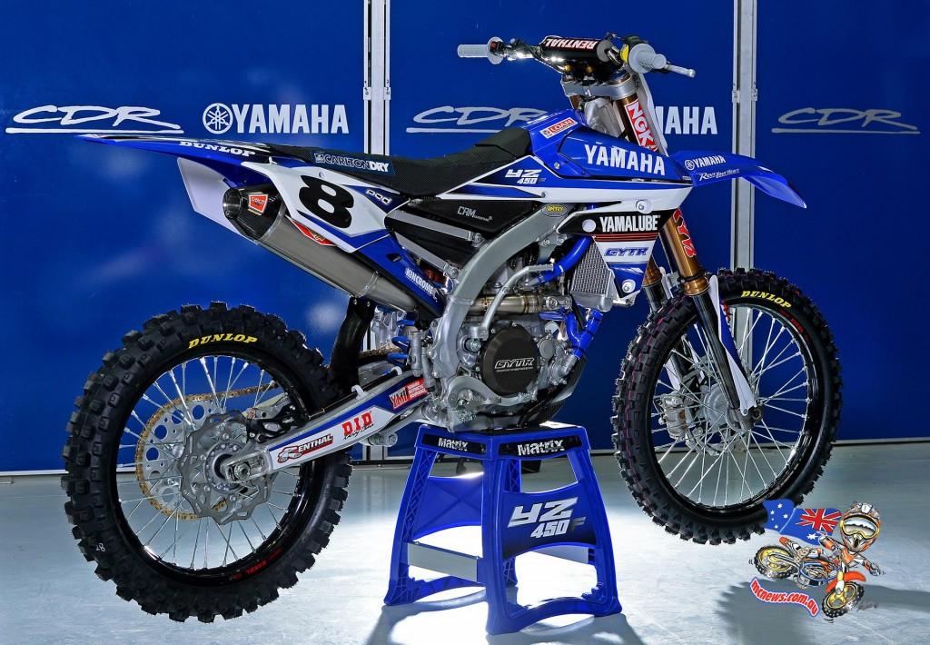 Kade Mosig YZ450F - MX Nationals 2015