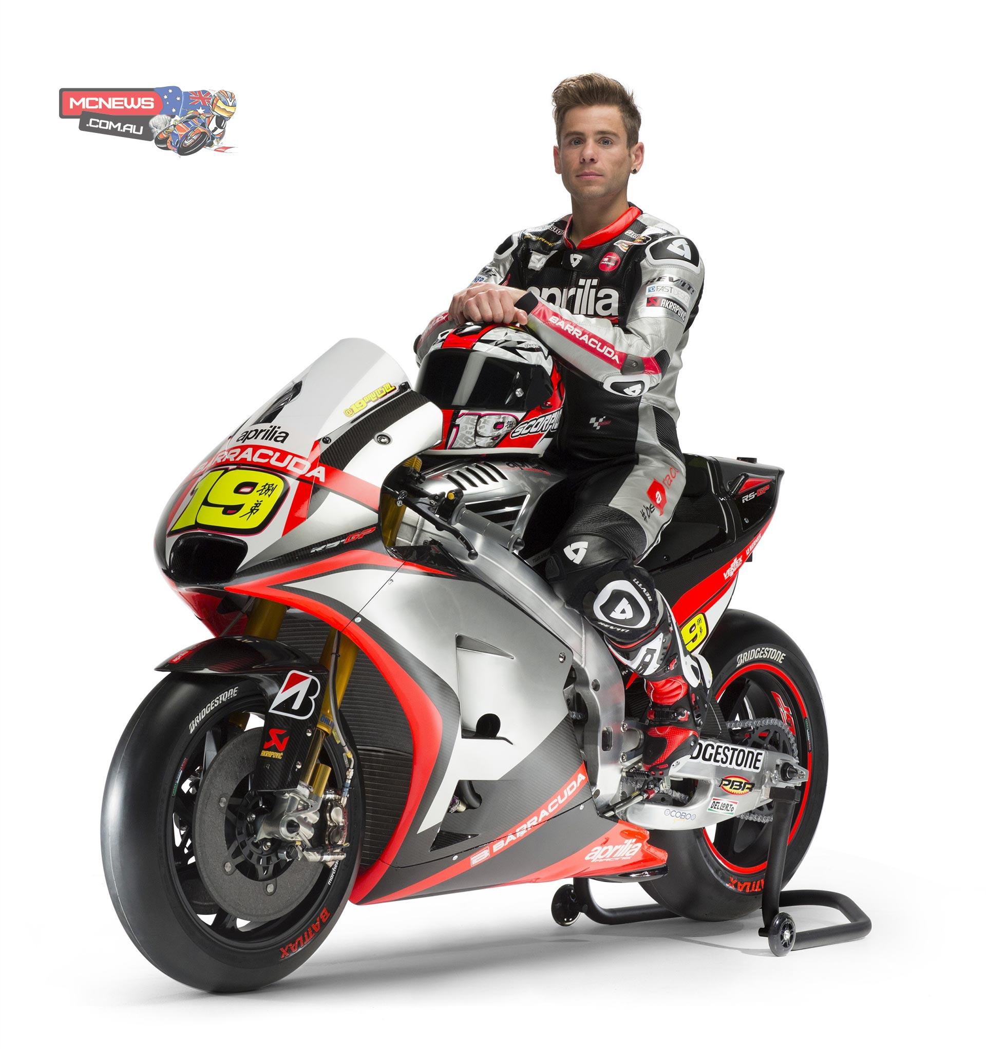 Aprilia MotoGP 2015 Team Launch   MCNews.com.au