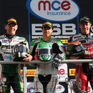 James Ellison, Shane Byrne and Josh Brookes