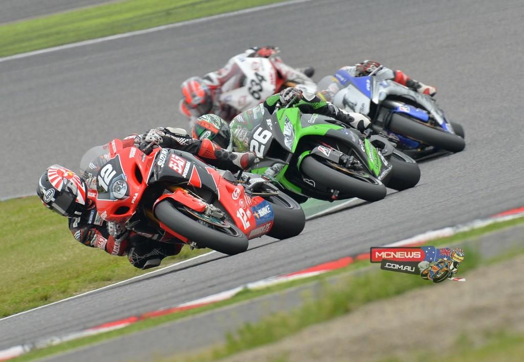 Japanese Superbike 2015 - Round One - Suzuka