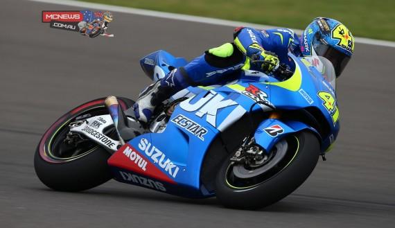 1. Aleix Espargaro (SPA) Team Suzuki Ecstar MotoGP 1'38.776