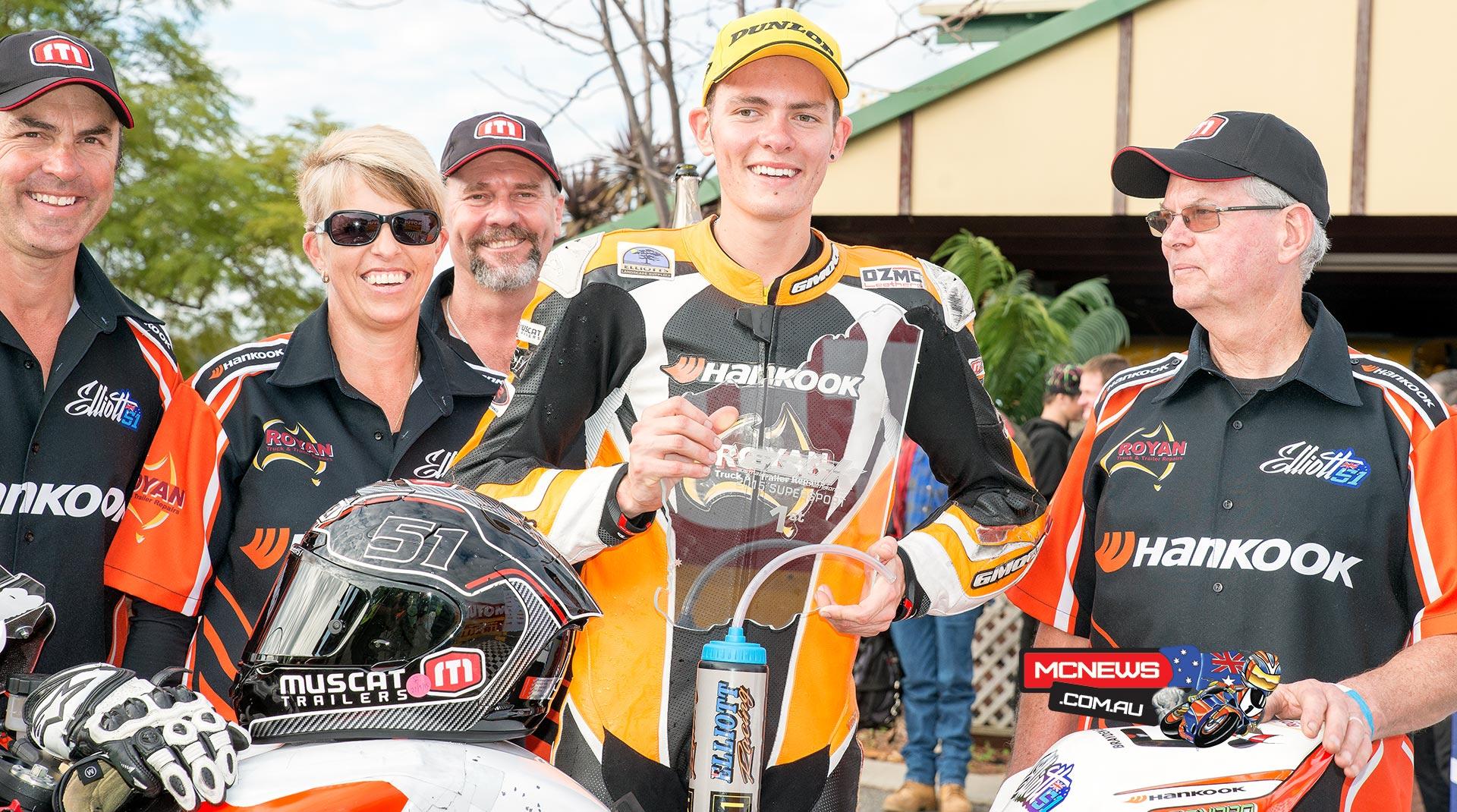 Brayden Elliott - ASBK 2015 Wanneroo Raceway Supersport Overall Winner 1-1