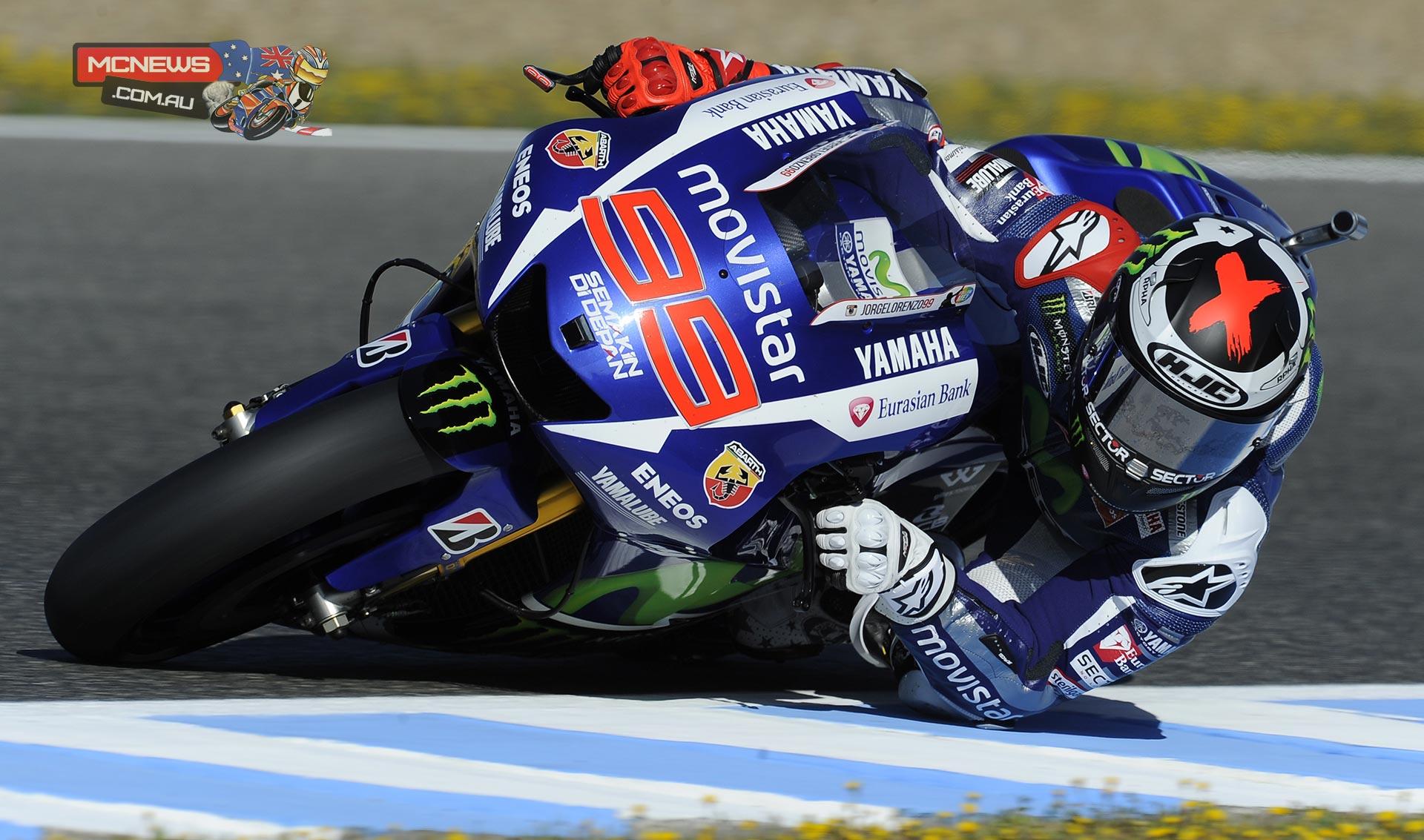 MotoGP Jerez 2015 Day One Round Up   MCNews.com.au