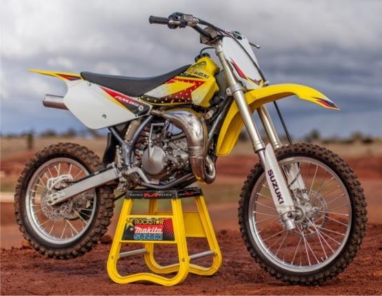 Bonus Race Kit With All New Suzuki RM85 and RM85 Big Wheel