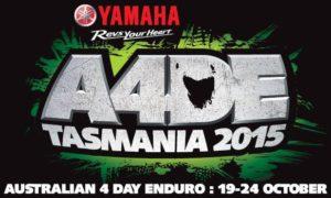 Yamaha 2015 Australian Four Day Enduro