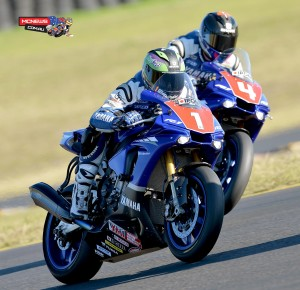 FX-ASC 2015 Round Three SMP - Saturday AFX-SBK Race Two - Wayne Maxwell and Glenn Allerton