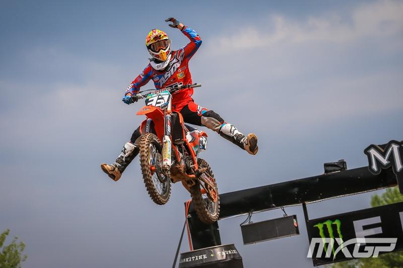 Josiah Natzke went 1-3 at EMX125 in Italy