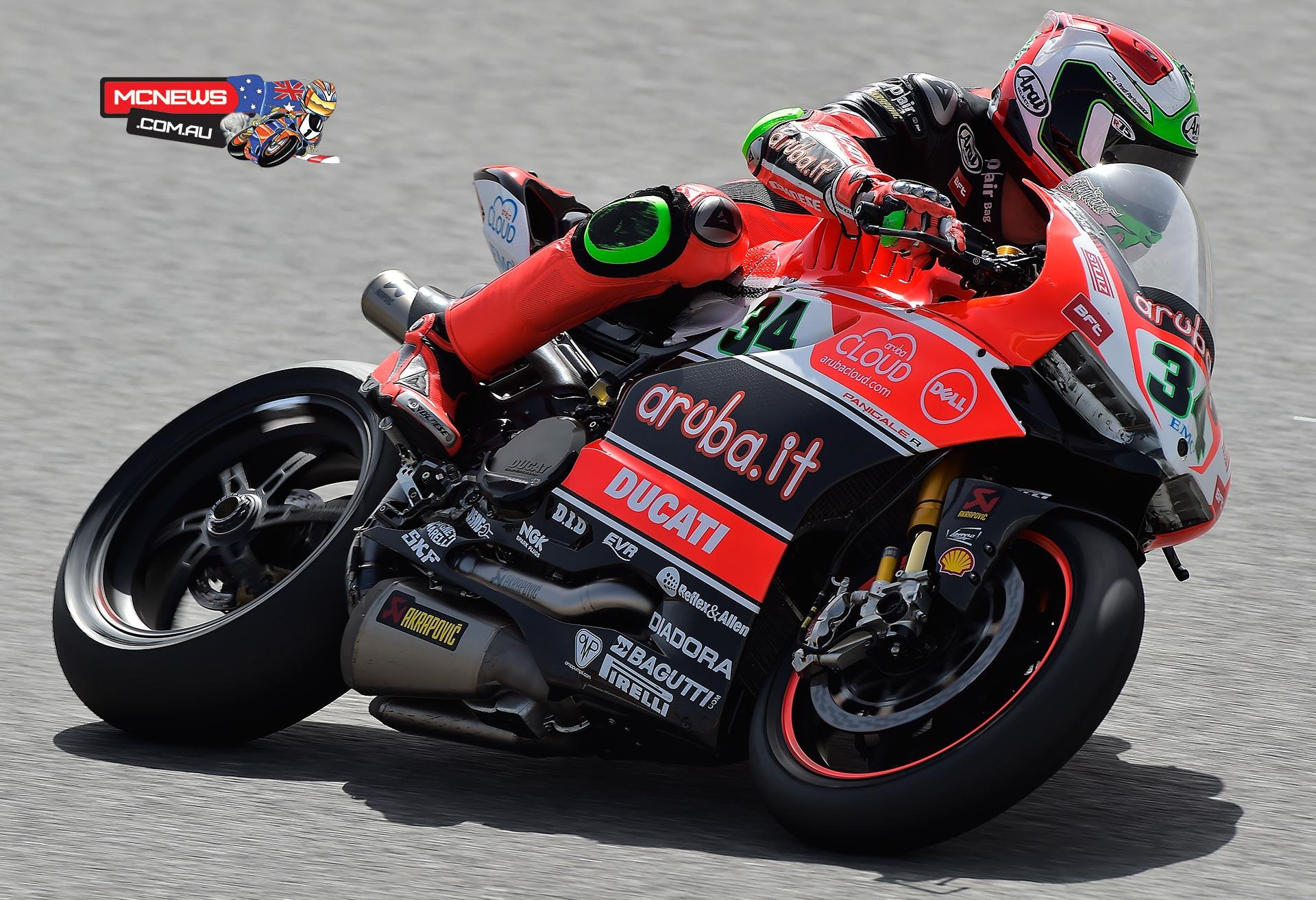 Davide Giugliano - (Aruba.it Racing - Ducati Superbike Team #34)