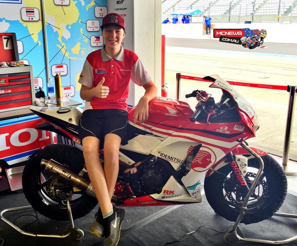 Asia Dream Cup Endurance Race Suzuka 2015 - Broc Pearson