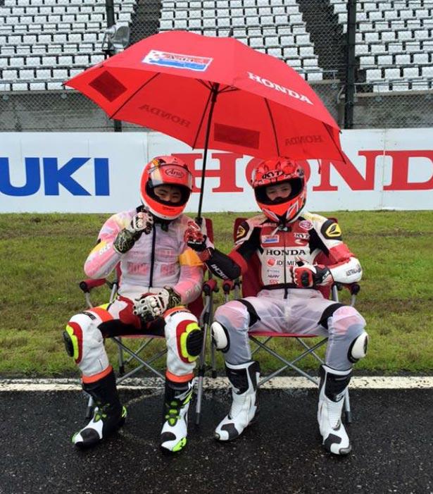 Asia Dream Cup Endurance Race Suzuka 2015 - Broc Pearson and teammate Kazuki Tomita