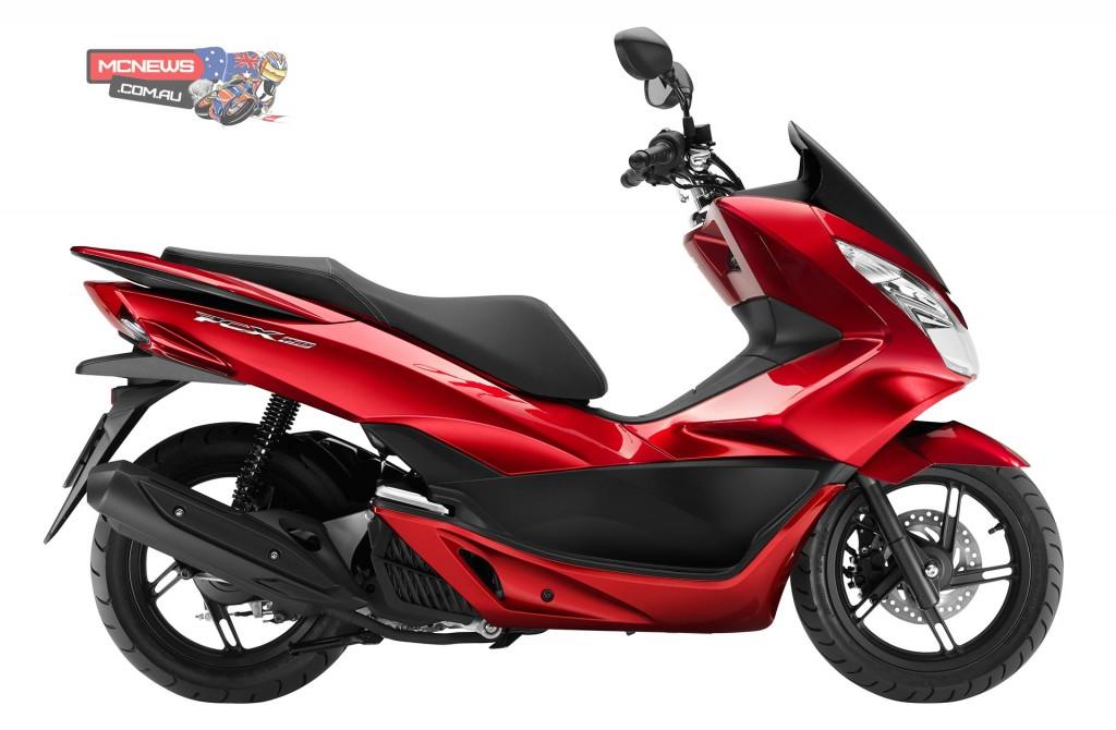 The Honda PCX150's 153cc single-cylinder, four-stroke, liquid-cooled engine boasts Honda's innovative eSP (enhanced Smart Power) technology