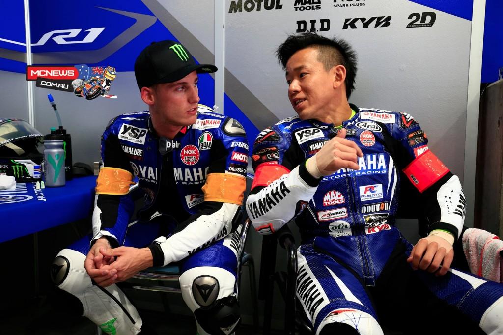 Katsuyuki Nakasuga and Pol Espargaro