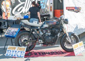 'Brando Bike' Raffle machine unveiled